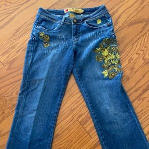 Apple blossom jeans